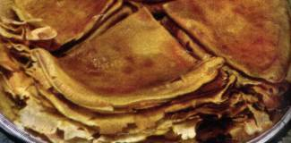 Crepes alle pere