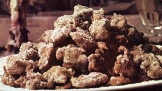 Frittelle all'uvetta