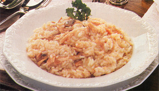 Risotto all'anguilla