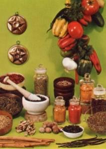Le spezie - Cucinare con le spezie ...